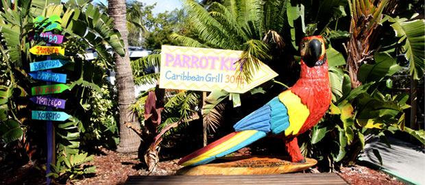 Eat At The Parrot Key - Parrot key car show